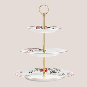 Martha Stewart Collection Royal Blush 3-Tier Server