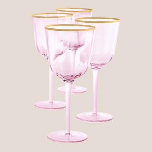 Martha Stewart Collection Royal Blush All-Purpose Glasses