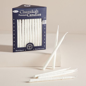 west elm hanukkah candles