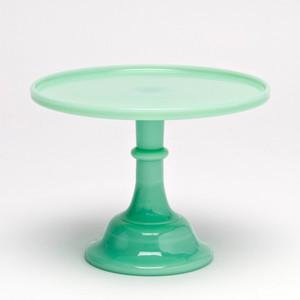 Jadeite Cake Plate
