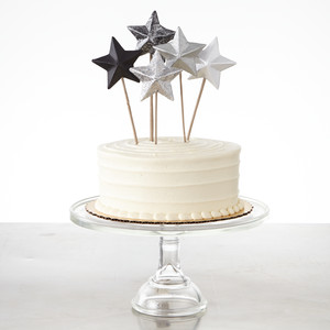 Papier-Mâché Cake Toppers