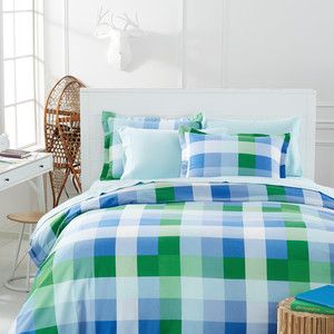 Martha Stewart Collection Snow Day Plaid Flannel Bedding
