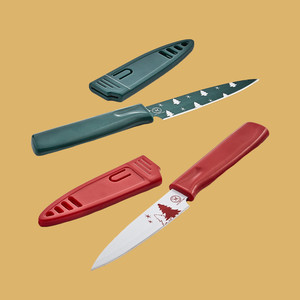Martha Stewart Collection Pairing Knives with Sheath