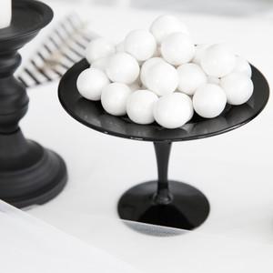 bootiful halloween baby shower balls on platter