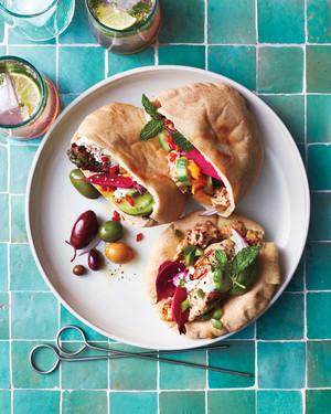 Pita Party Recipes: Meze Style