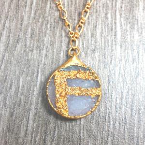 Fotini Jewelry Monogrammed Pendant