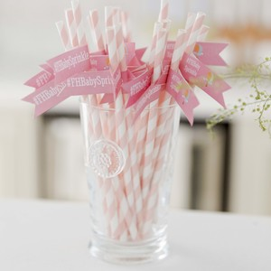 baby-shower-pink-straws