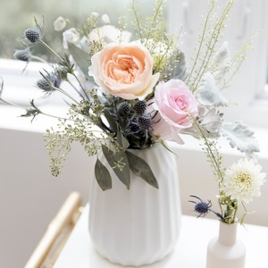 pastel-colored-flowers-in-vase