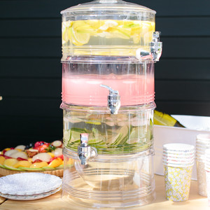Triple-Tiered Drink Dispenser