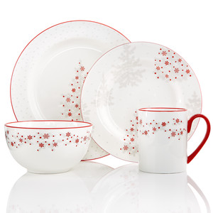 Martha Stewart Collection Winter Woods Dinnerware  sc 1 st  Martha Stewart : martha stewart dinnerware - pezcame.com