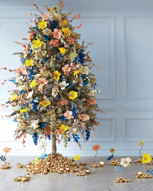 Enchanted Forest Christmas Tree Ideas By Martha Living Editors
