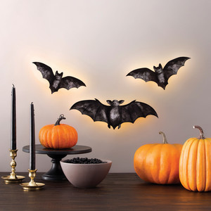 Martha Stewart Illuminated Bat Silhouettes