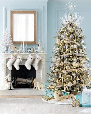 Decorating with the Martha Holiday Arctic Collection