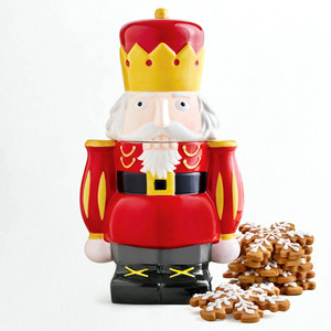 Martha Stewart Collection Nutcracker Cookie Jar