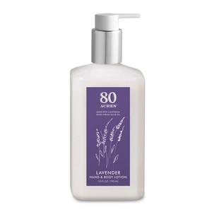 McEvoy Ranch: Lavender Hand & Body Lotion