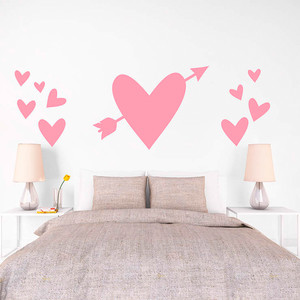 Martha Stewart Wall Art Decals – Oversized Heart