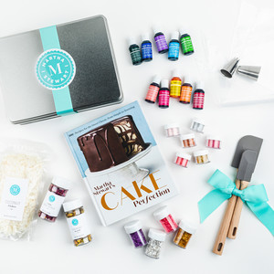 Martha Stewart Cake Perfection Book and Decorating Set