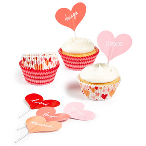 Martha Stewart Collection™ Cupcake Liners and Toppers