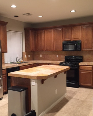 Kitchen Makeover From Dreary And Dated To Big Bright Beautiful