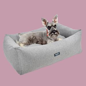 Martha Stewart Tweed Pet Bed