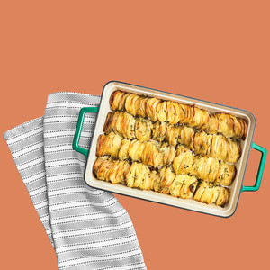 Martha Stewart Collection Enameled Cast Iron Lasagna Pan