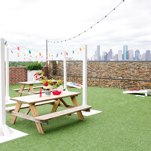 The Brightest, Boldest Summer Picnic is Happening on the Roof