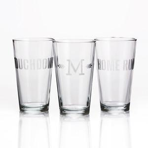 Etched-Glass Tumblers