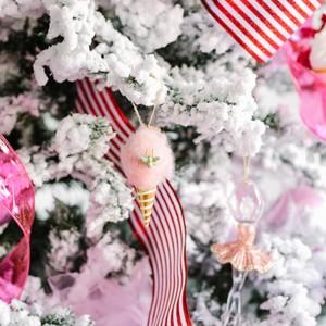 Cotton Candy Ornament