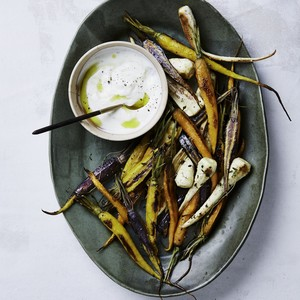 roasted parsnips carrots
