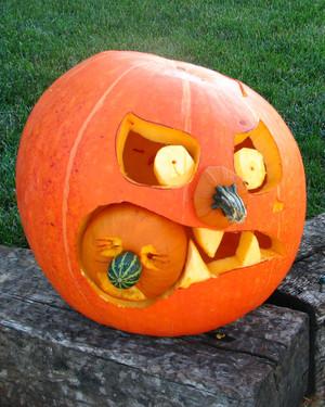 how to carve a pumpkin martha stewart