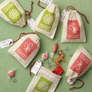 Canvas Treat Bags