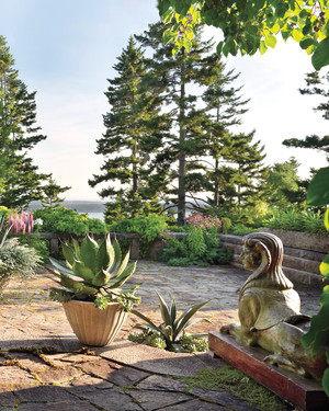 Martha's 'Skylands' Home in Maine: Tour the Gardens!