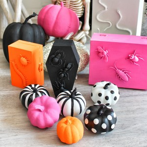 Hand-painted pumpkins that were so easy to do with Martha Stewart Crafts craft paints.