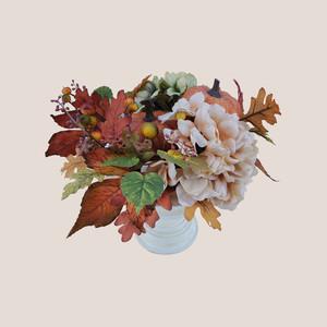 Martha Stewart Collection Harvest Pumpkin Arrangement
