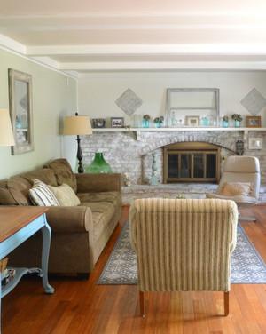 Lighten Up, Living Room! See This De-light-ful Transformation