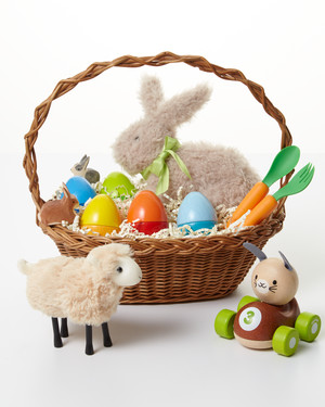 8 luxurious easter basket ideas for adults martha stewart 9 adorable easter basket ideas for toddlers negle Choice Image