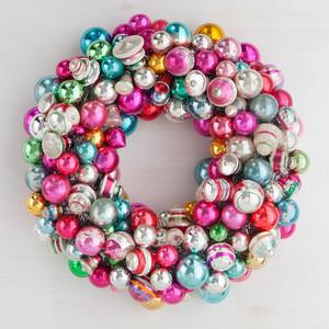 Christmas Ornament Wreath | Martha Stewart