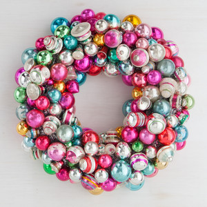 other options - Christmas Ball Wreath