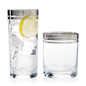 Martha Stewart Platinum Glassware Collection