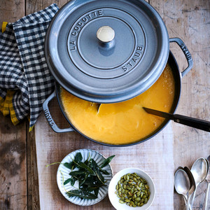 Roasted-Squash-and-Parsnip Soup