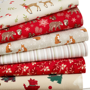 Novelty Print Flannel Sheets
