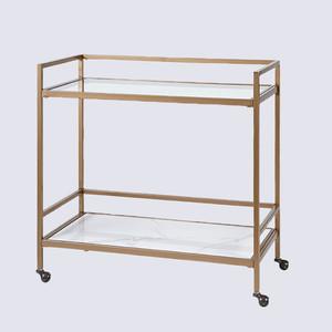 Martha Stewart Collection Gold–Tone Bar Cart