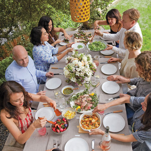 Shiva Rose and Friends Host a Garden-Fresh Easter Feast