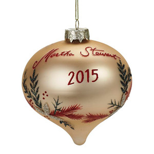 Martha Stewart Living Collectible Glass Ornament