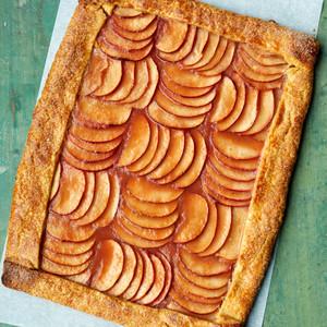 pink apple tart martha bakes