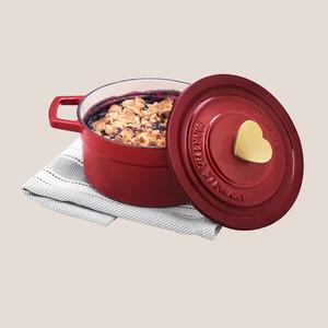 Martha Stewart Collection 2-Qt. Enameled Cast Iron Cookware