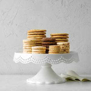 Martha Stewart Collection Scalloped Cake Stand