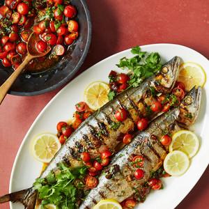 dates mackerel with date butter