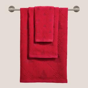 Martha Stewart Collection Snow Tree Cotton Towel