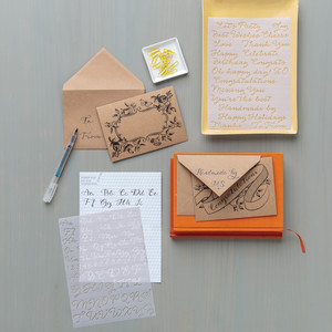 Learn with Martha: Hand Lettering Kit